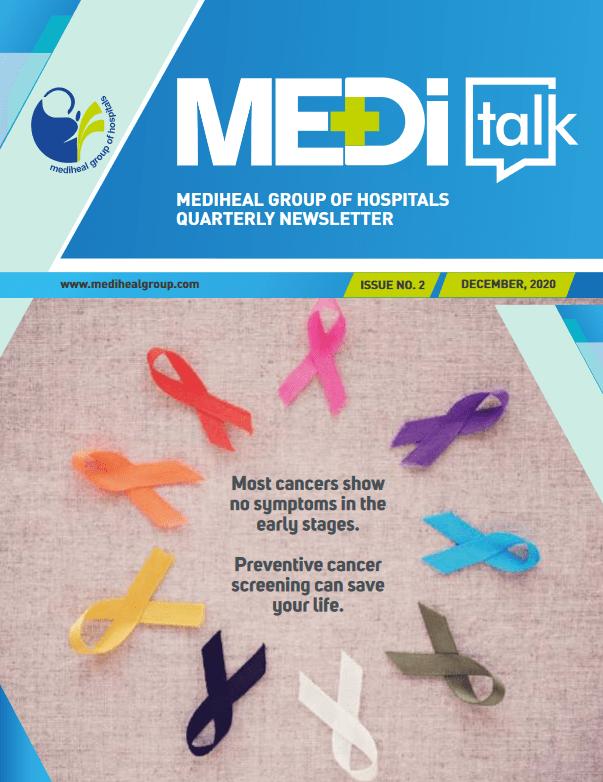 MediTalk Volume.2 Mediheal Group of Hospitals Newsletter issue no.2 December 2020